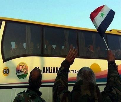 حرکت ۱۲۰ دستگاه اتوبوس به سمت کفریا و فوعه