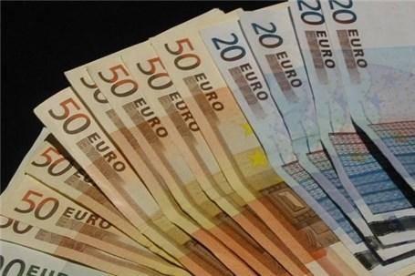 ارزش یورو به بالاترین رقم یک هفته اخیر رسید