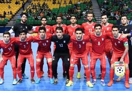 تیم فوتسال زیر 20 سال ایران قهرمان آسیا شد