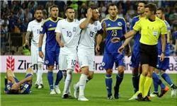 کمک مربی بوسنی، دندان بازیکن یونان را شکست!