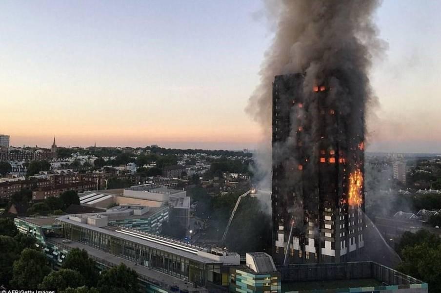 یخچال فریزر معیوب، علت آتشسوزی برج گرنفل لندن