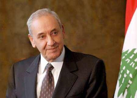 نبیه بری فرارسیدن عیدسعید فطر را به مسئولان ارشد ایران تبریک گفت