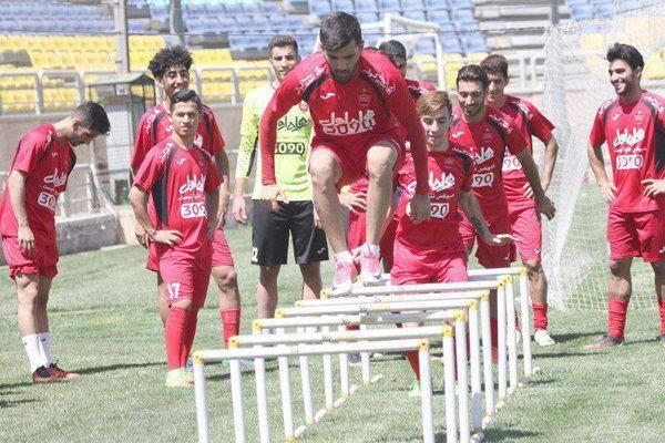 حضور منشا در تمرین پرسپولیس و تمرینات ویژه برانکو برای بازیکنان