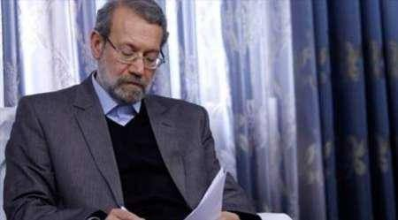 لاریجانی عید سعید فطر را به روسای مجالس کشورهای اسلامی تبریک گفت