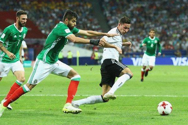 پیروزی قاطعانه آلمان مقابل مکزیک/ شاگردان لوو حریف شیلی در فینال