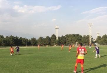 تساوی تیم های فوتبال سپیدرود رشت و فولاد خوزستان