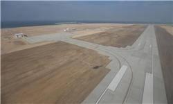 فرودگاه هندورابی افتتاح شد/ امکان نشست و برخاست هواپیماهای کوتاهبرد