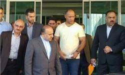 وزیر ورزش و جوانان به عیادت فلاحتینژاد رفت