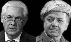 گفتوگوی تلفنی تیلرسون و بارزانی درباره همهپرسی استقلال کردستان