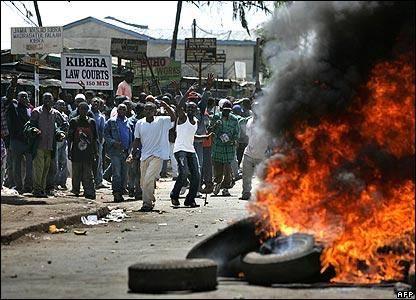 11 نفر در ناآرامی های کنیا کشته شدند