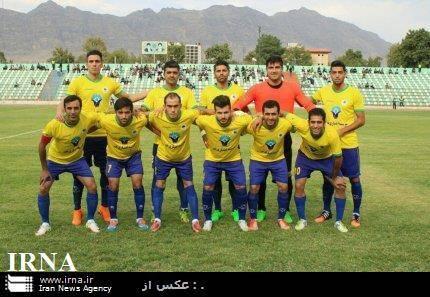 پیروزی تیم فوتبال اکسین البرز بر سایپا