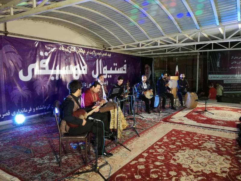 آغاز جشنواره موسیقی غرب کشور در قصرشیرین