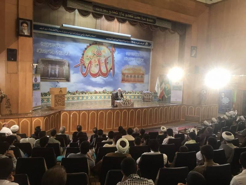 جشن بزرگ مباهله در حرم عبدالعظیم(ع) برگزار شد