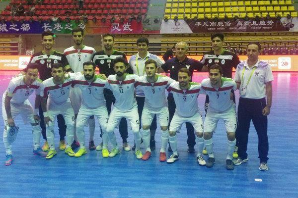 پیروزی تیم فوتسال ایران مقابل مغولستان با ۱۱ گل