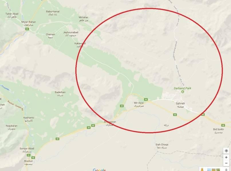 زلزله، شرق کرمانشاه را لرزاند