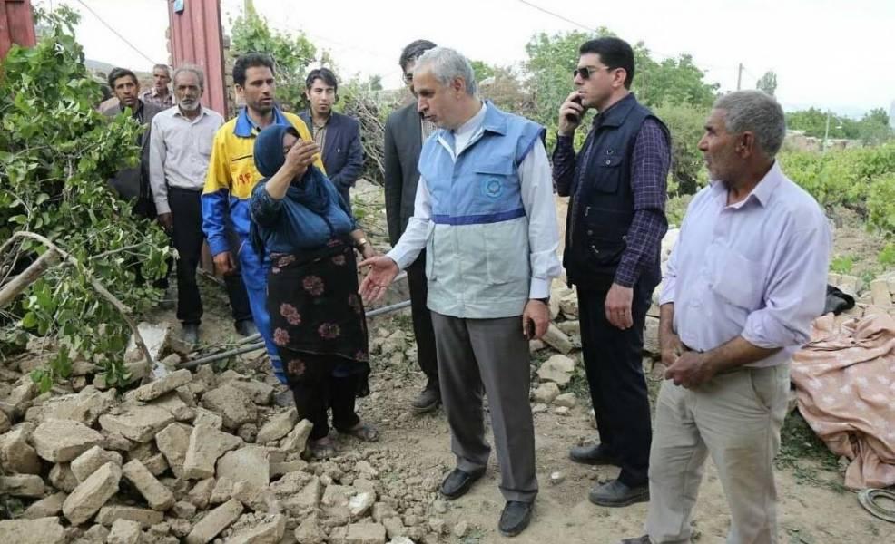استاندار خراسان شمالی: مشکل پرداخت خسارت زلزله زدگان از سوی بیمه برطرف می شود