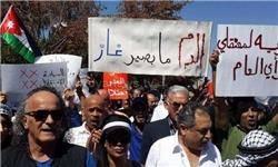 تظاهرات اردنیها و درخواست لغو توافقنامه گاز رژیمصهیونیستی