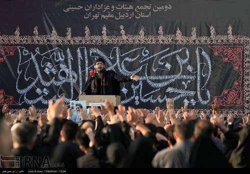 اردبیلی های مقیم تهران در میدان امام حسین(ع) به عزاداری و سوگواری پرداختند