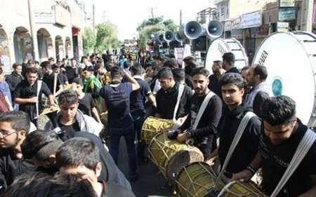 شور حسینی در تاسوعای دزفول
