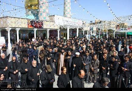 دیار هگمتانه، صحنه شورانگیز عزاداری حسینی در روز تاسوعا