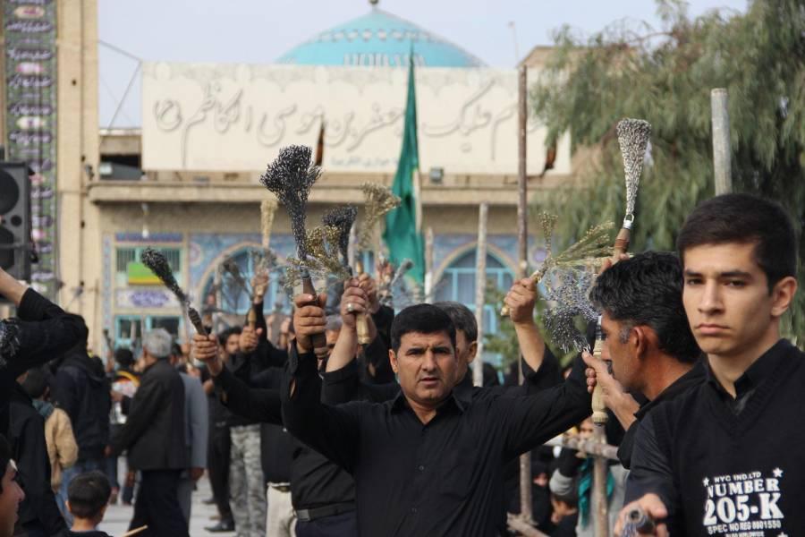 جنوب شرق استان تهران در تاسوعای حسینی غرق عزا و ماتم است