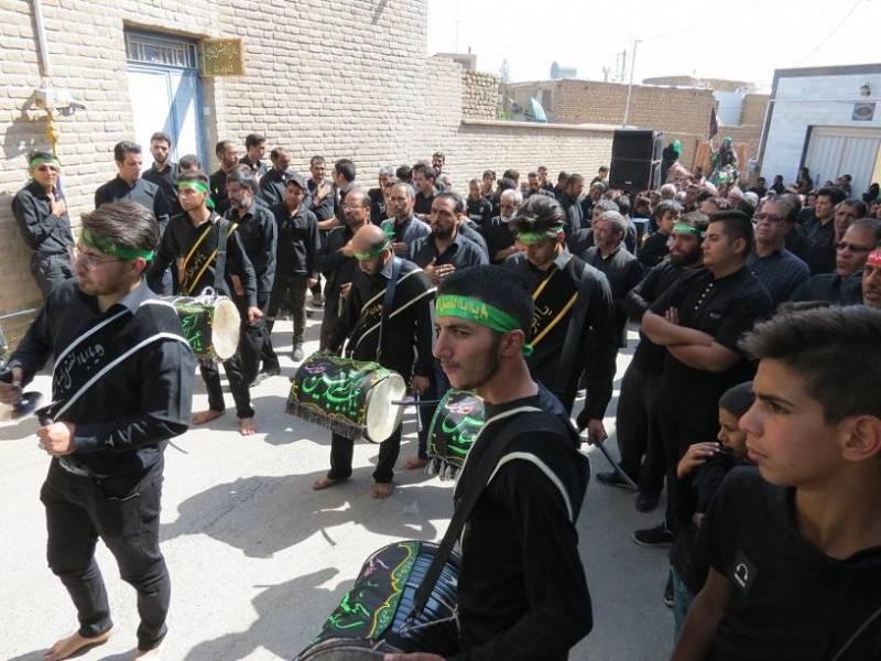 آئین های سنتی عاشورای حسینی در نائین
