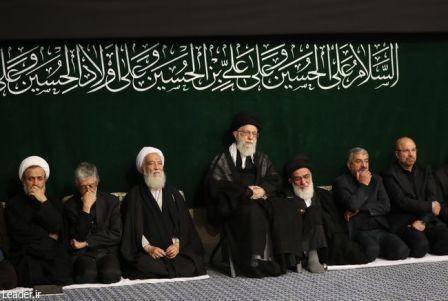 مراسم عزاداری شام غریبان در حسینیه امام خمینی(ره) آغاز شد