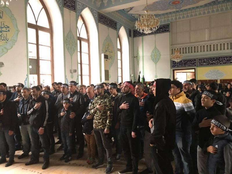 برگزاری مراسم عزاداری عاشورا در گرجستان