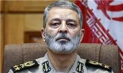سرلشکر موسوی از منطقه سوم نیروی دریایی ارتش بازدید کرد