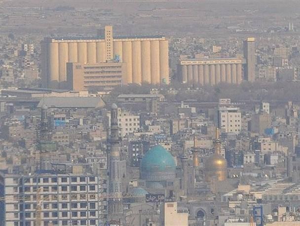 کیفیت هوای مشهد برای دومین روز متوالی در وضعیت هشدار