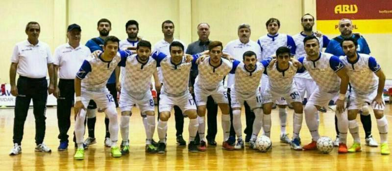 سه بازیکن قزوینی در لیگ فوتسال جمهوری آذربایجان