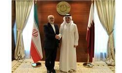 تاکید وزیر خارجه قطر بر گسترش همکاریهای اقتصادی همگام با توسعه مناسبات سیاسی با ایران