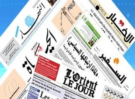 سرخط روزنامه های لبنان-پنجشنبه 13 مهر