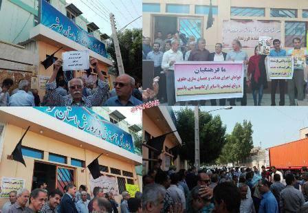 فرهنگیان بوشهری خواستار رسیدگی به وضعیت معیشتی خود شدند