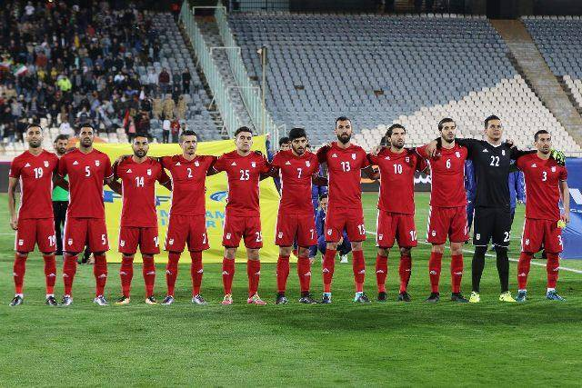 اعلام برنامه تمرینی تیم ملی فوتبال ایران