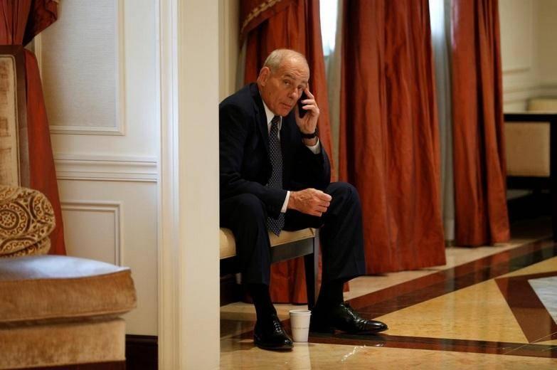تلفن همراه رئیس کارکنان کاخ سفید هک شد