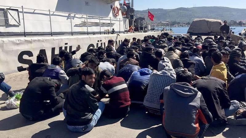 907 مهاجر غیرقانونی در مرزها و شهرهای مختلف ترکیه دستگیر شدند