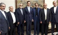 بروجردی: پایداری سوریه موجب شکست آمریکا و صهیونیستها شد/ بشار اسد: خون شهدای ایران در سوریه سرمایه گرانقدری برای ۲ کشور است