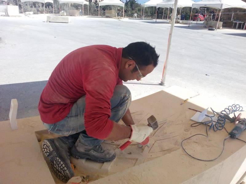 مجسمه سازان ایرانی در باکو هنرنمایی می کنند