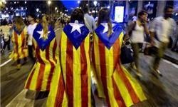 احزاب جداییطلب کاتالونیا به دنبال اعلام استقلال از دولت مرکزی