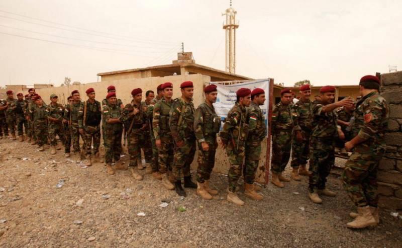 سخنگوی وزارت دفاع آمریکا: پرداخت دستمزد به نیروهای پیشمرگه کرد متوقف شده است