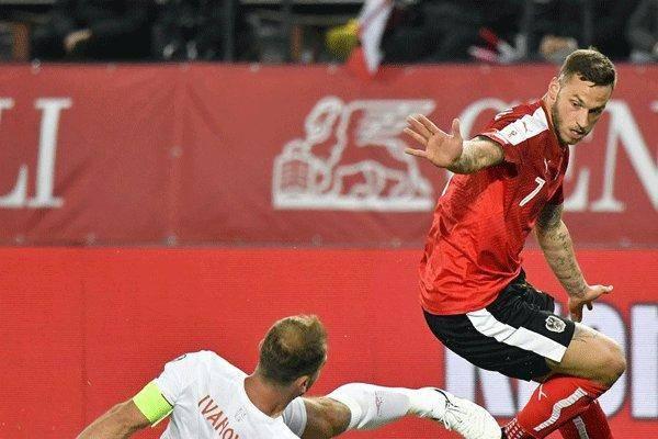 شکست غیر منتظره صربستان مقابل اتریش/ شانس سه تیم برای صعود مستقیم