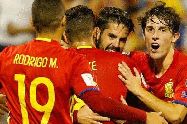 اسپانیا هم به جام جهانی صعود کرد/ توقف ایتالیا مقابل مقدونیه
