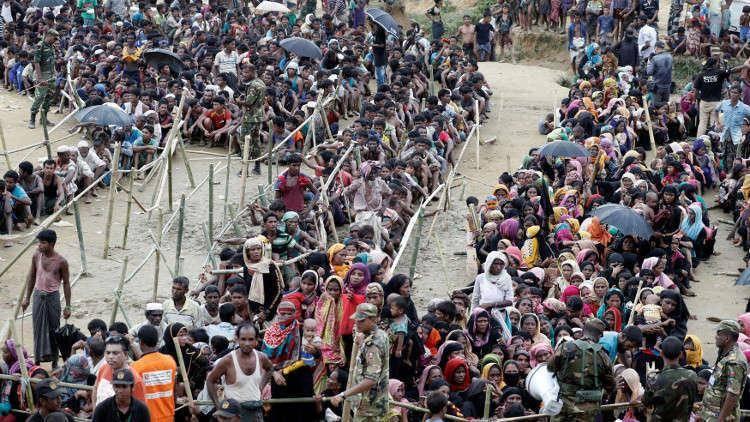 مردم بنگلادش خواستار تجهیز نظامی مسلمانان روهینگیا شدند