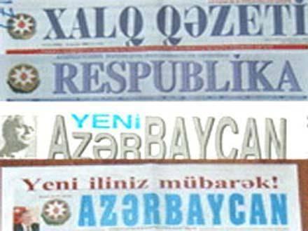 سرخط روزنامه های جمهوری آذربایجان - شنبه 15 مهر