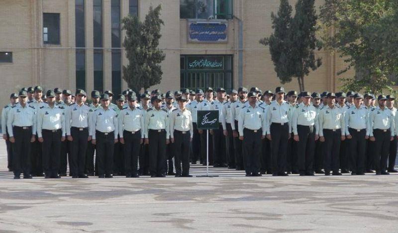 صبحگاه مشترک یگان های انتظامی استان یزد برگزار شد