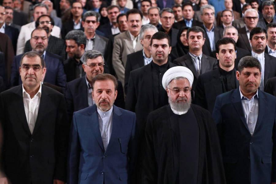 آغاز سال تحصیلی دانشگاهها با حضور روحانی در دانشگاه تهران