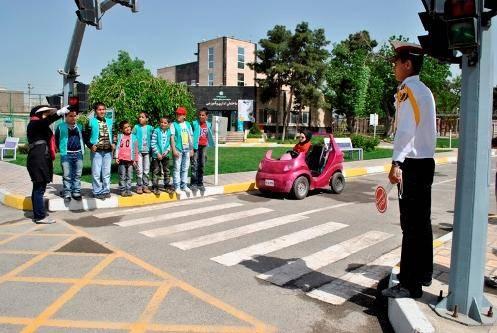 شهرک ترافیک مازندران در ساری گشایش یافت