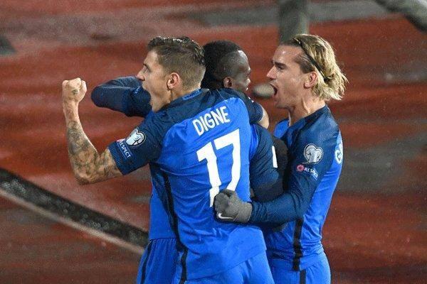 فرانسه صدرنشینی گروه A را پس گرفت/ پیروزی هلند مقابل بلاروس