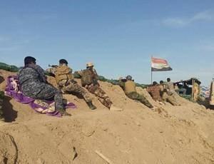 الحشدالشعبی تلاش داعش برای نفوذ به خاک عراق از مرز سوریه را دفع کرد